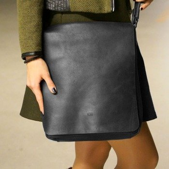 DAAG Jazzy Smash 71 czarna skórzana torba na ramię