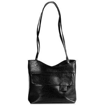 DAN-A T180 czarna torebka skórzana damska