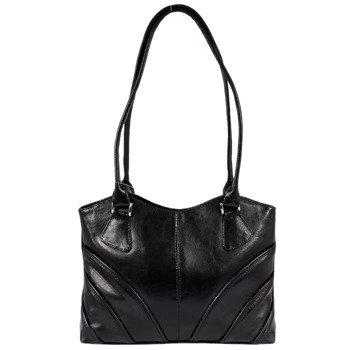 DAN-A T213 czarna torebka skórzana damska