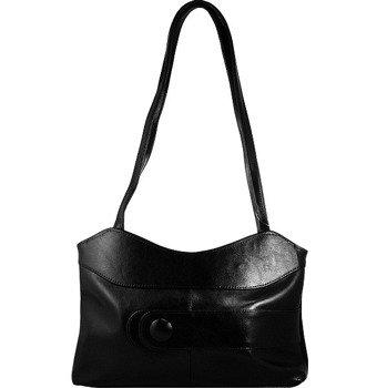 DAN-A T24 czarna torebka skórzana damska