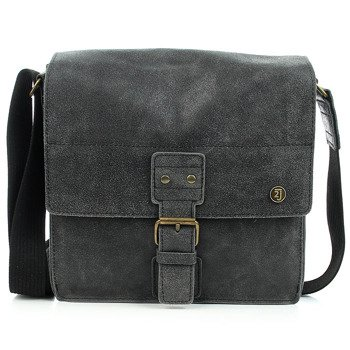 Skórzana torba na ramię czarna 2JUS by DAAG Land 3