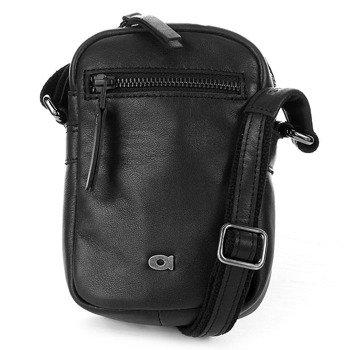 Skórzana torba na ramię czarna unisex Daag Storm 4