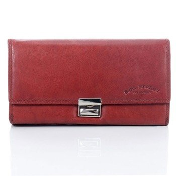 Skórzany portfel kelnerski brązowy GA101