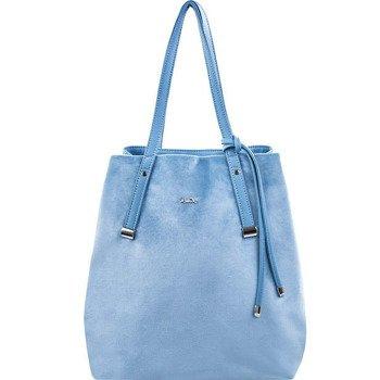 Torba damska shopper Felice Rica FB06 błękitna