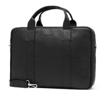 ccb49345db45f Torba męska na ramię na laptop casual BRODRENE B01 czarna