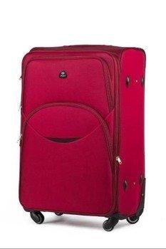 Zestaw walizek miękkich Solier STL1708 czerwony