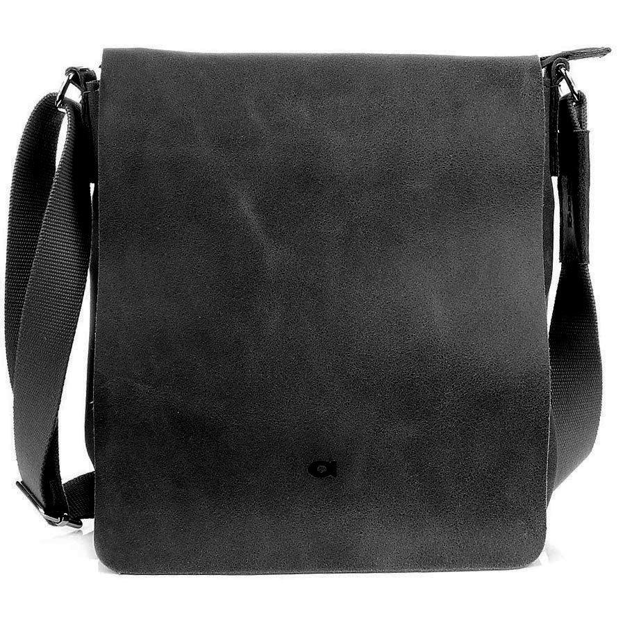 0c39d75af3c9c DAAG JAZZY SMASH 76 czarna torba listonoszka unisex -  12034 ...