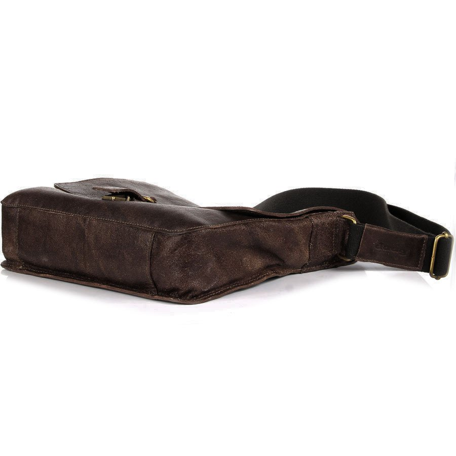DAAG Jazzy Organic 2 brązowa skórzana torba na ramię unisex