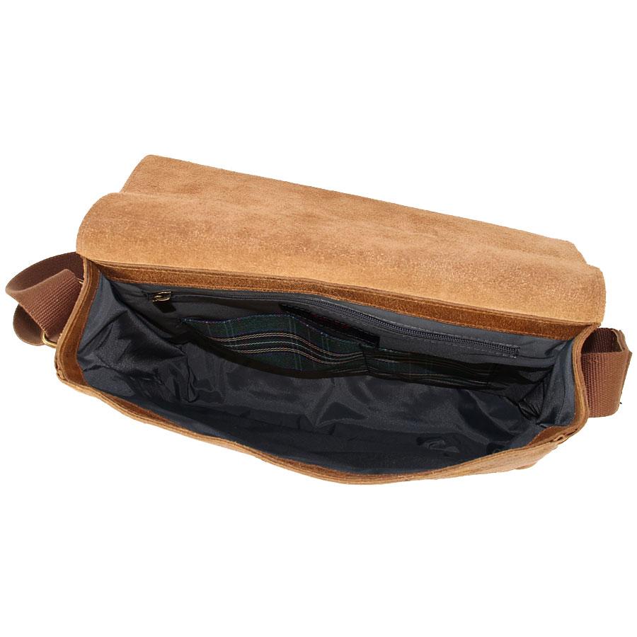 1fd763a0243d5 ... DAAG Jazzy Wanted 32 brązowa torba skórzana unisex listonoszka przez  ramię ...