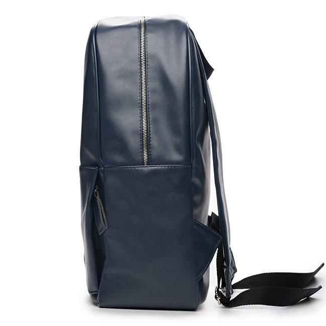 cfcfac4641964 ... Męski plecak miejski na laptopa Solier SR01 FORRES granatowy ...