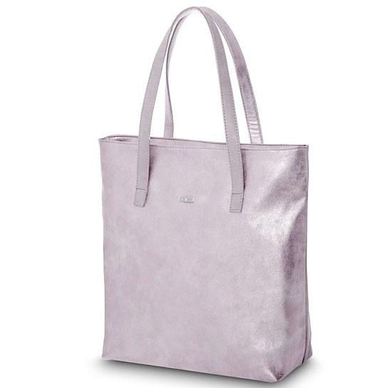 Torba damska shopper bag FELICE D01 pink dubaj