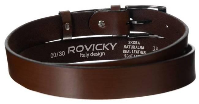 Pasek męski Rovicky PLW-R-1 BRĄZOWY