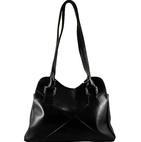 DAN-A T94 czarna torebka skórzana damska