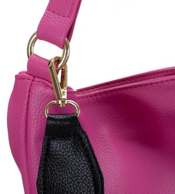 Duża torebka damska różowa Badura TD_202RO_CD