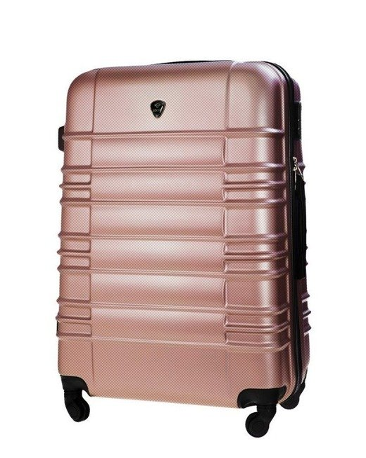 Duża walizka podróżna STL838 rose gold