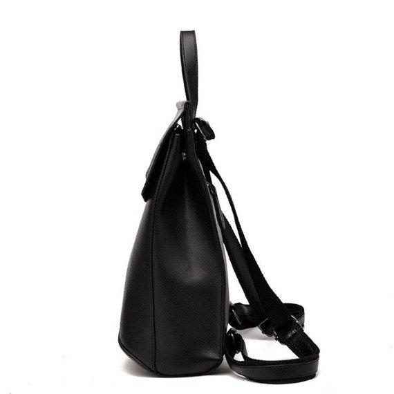 Elegancki plecak damski czarny