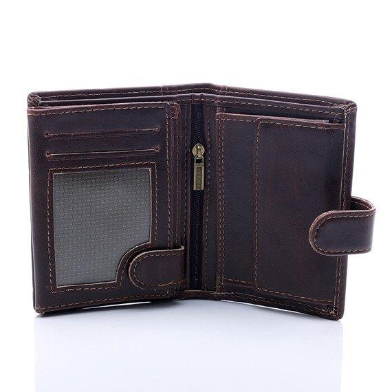 Elegancki portfel męski czarny GA51
