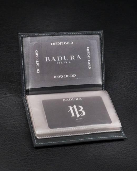 Etui na karty czarne Badura TW-12-MH-BA BLACK
