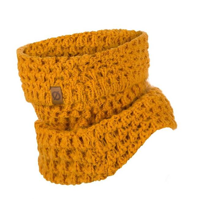 Komin zimowy dopasowany Brodrene K6 żółty