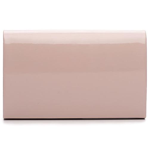 Kopertówka damska Felice F13 LAKIER różowa