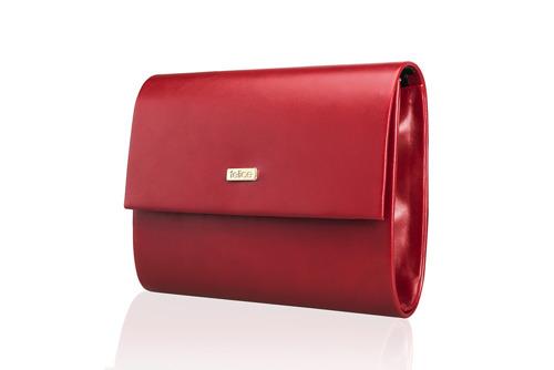 Kopertówka damska Felice F14 MAT czerwona
