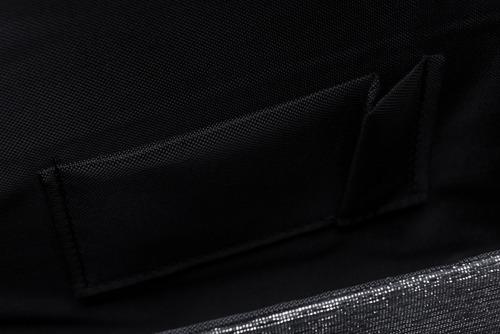 Kopertówka damska Felice F14 brokat gafit