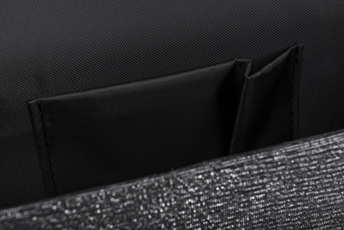 Kopertówka damska Felice F15 graphite glitter