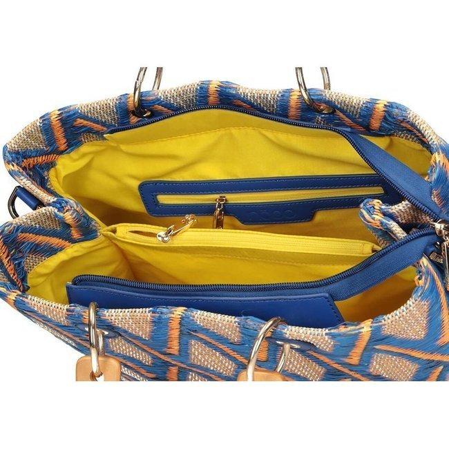 Koszyk damski niebieski Nobo NBAG-K1480-CM12