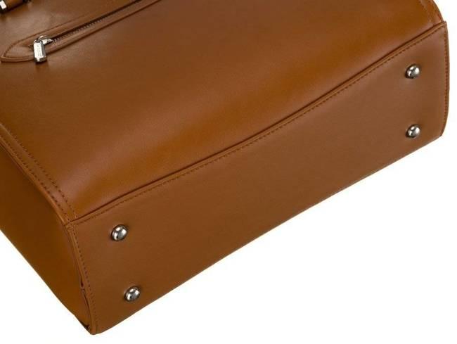 Kuferek brązowy David Jones CM6011 TAN