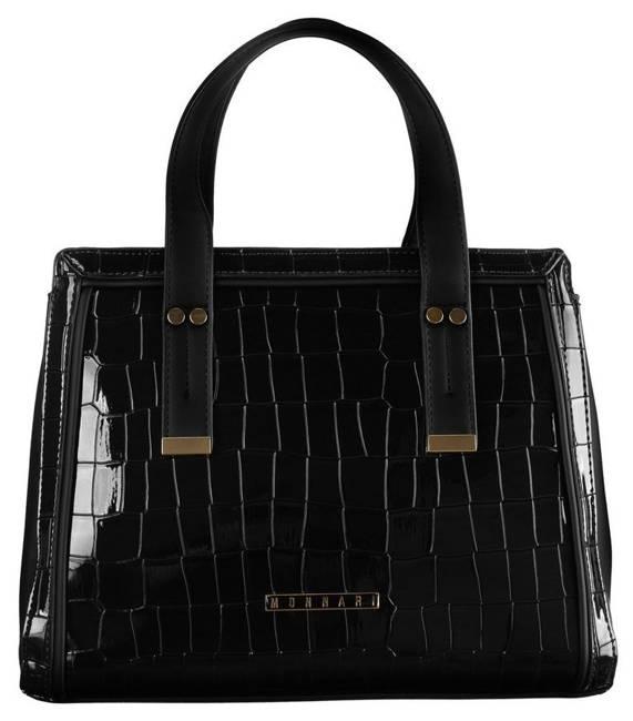 Kuferek damski czarny Monnari BAG2311-020