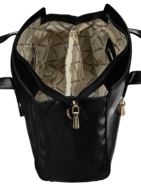 Kuferek damski czarny tłoczony Monnari BAG2310-020