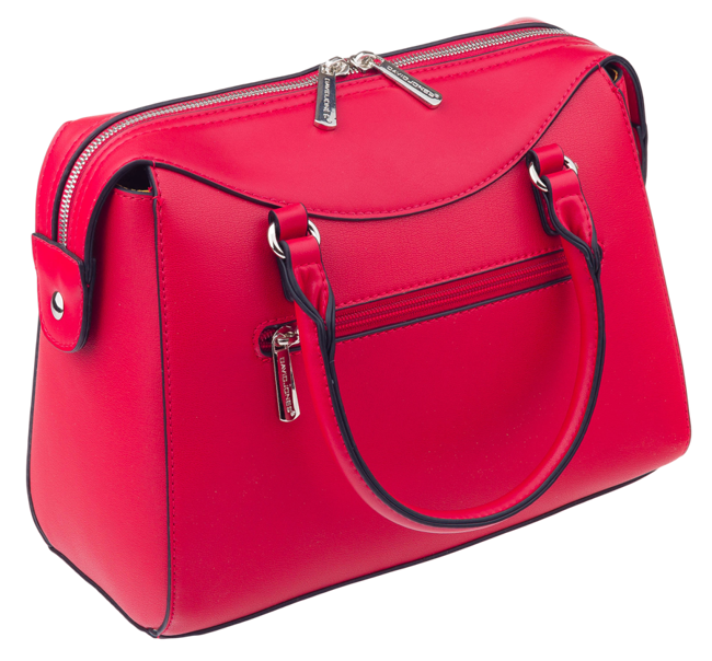 Kuferek damski czerwony David Jones CM5734 RED