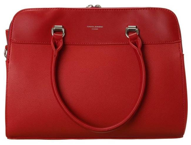 Kuferek damski czerwony David Jones CM6063 RED