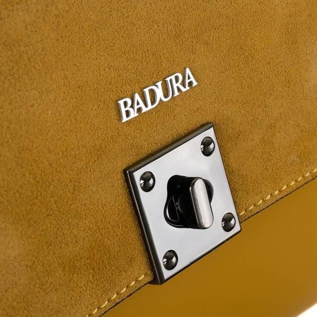 Kuferek damski żółty Badura T_D208ZŁ_CE