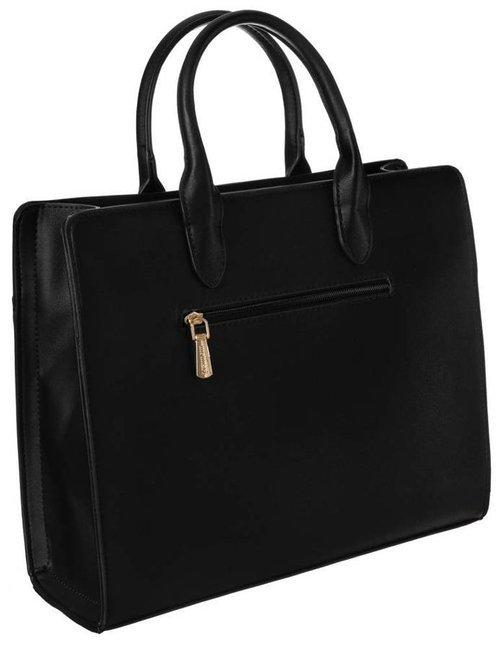 Lakierowany kuferek czarny Monnari BAG2320-020