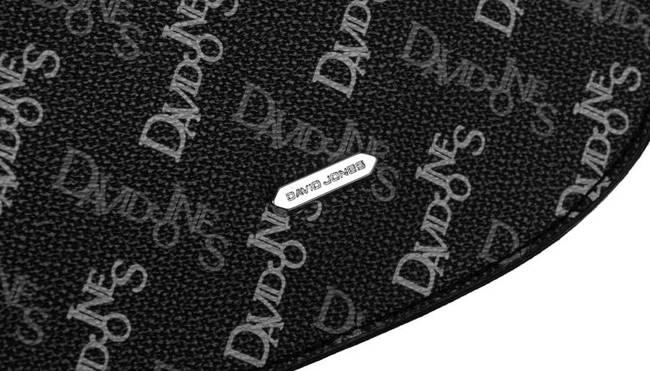 Listonoszka czarna print David Jones CH21013 BLACK
