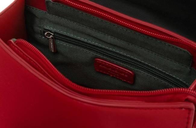 Listonoszka czarno-czerwona David Jones CM6092 BLACK-RED