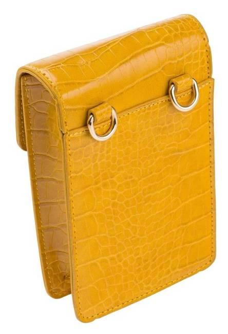 Listonoszka damska 2w1 saszetka żółta Rovicky 3903