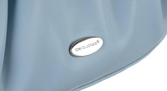 Listonoszka damska błękitna David Jones CM6069 PALE BLUE