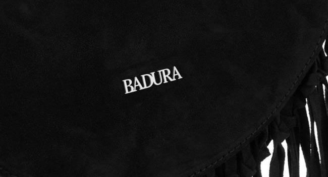 Listonoszka damska czarna Badura T_D185CZ_CD