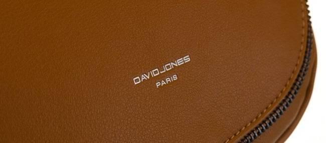 Listonoszka damska koniakowa David Jones CM5736 COGNAC