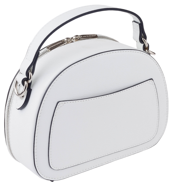 Listonoszka damska kuferek David Jones biała CM5692