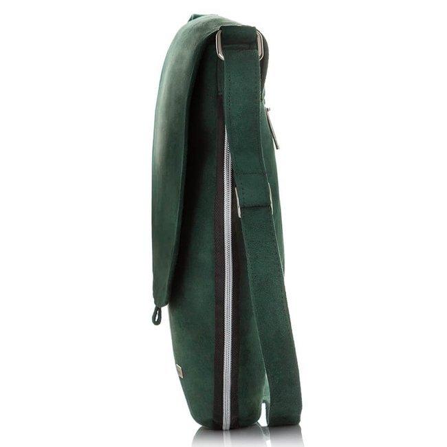 Listonoszka damska na ramię Paolo Peruzzi zielona Z-19