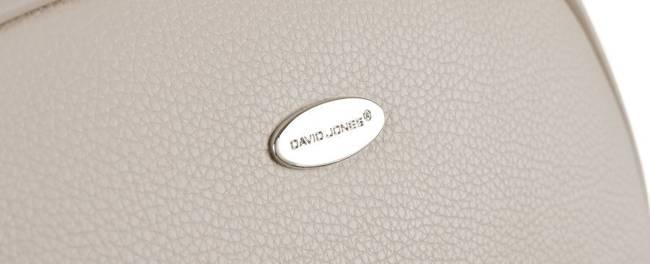 Listonoszka ecru David Jones 6521-1 CREAMY-WHITE