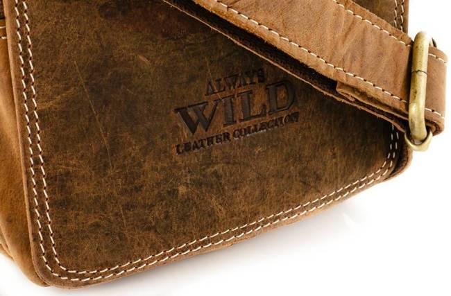 Listonoszka męska j. brązowa Always Wild 250591-MH-1848 TAN