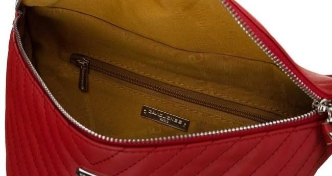 Listonoszka nerka czerwona David Jones 6232-1 RED