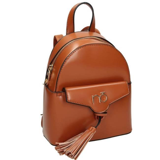 Mały plecak damski brązowy NOBO NBAG-J3770-C017