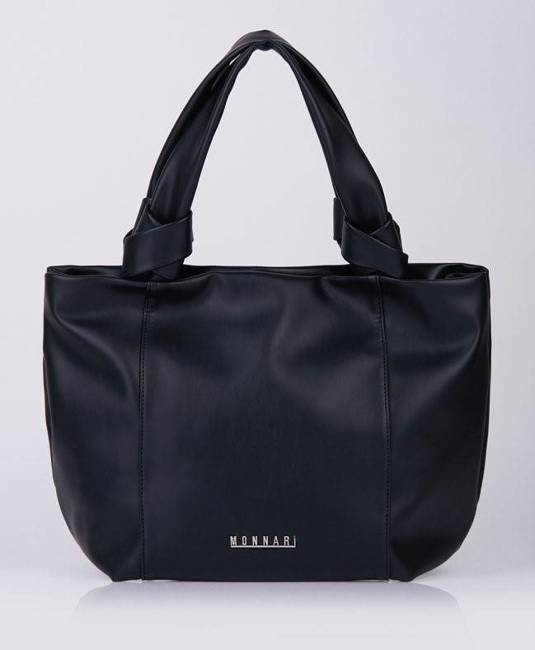Miękka shopperka czarna Monnari BAG1120-020