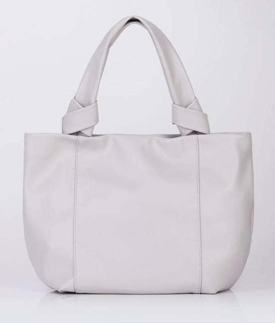 Miękka shopperka szara Monnari BAG1120-019