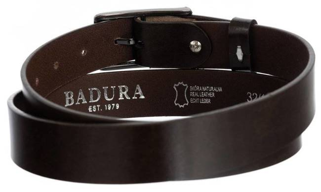 Pasek damski brązowy Badura PBD-3-A-105-8549 BRO